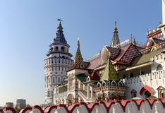 Izmailovsky Kremlin Kremlin in Izmailovo, Moscow, Russia Royalty Free Stock Image