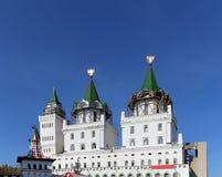 Izmailovsky Kremlin Kremlin in Izmailovo, Moscow, Russia Royalty Free Stock Images