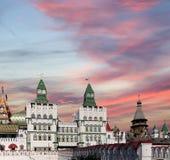 Izmailovsky Kremlin Kremlin in Izmailovo, Moscow, Russia Stock Images