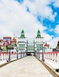 Izmailovsky Kremlin, Moscow, Russia Royalty Free Stock Image