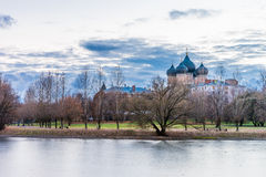 Izmailovsky wyspa katedra pokrovsky Fotografia Stock