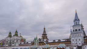 Izmaylovo Κρεμλίνο Στοκ εικόνες με δικαίωμα ελεύθερης χρήσης