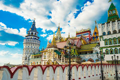 Izmaylovo Kremlin in Moscow Stock Photo