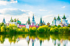 Izmaylovo Kremlin in Moscow, Russia Stock Image