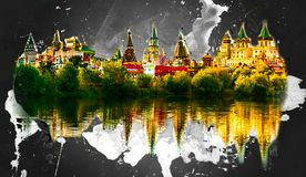 Izmaylovo Kremlin in Moscow, Russia Royalty Free Stock Photos