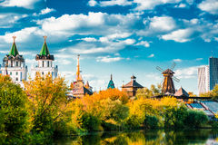 Izmaylovo Kremlin in Moscow, Russia Royalty Free Stock Images