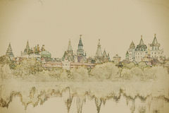 Izmaylovo Kremlin in Moscow, Russia Stock Photography