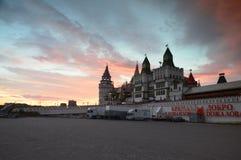 Izmaylovo Kremlin rynek, Moskwa, federacja rosyjska obraz royalty free