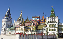 Izmaylovo vernisage, Moscow Royalty Free Stock Photos