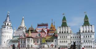 Izmaylovskiy het Kremlin in Moskou Rusland Stock Foto's