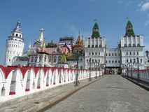 Izmaylovskiy Kremlin in Moscow Russia Royalty Free Stock Photography