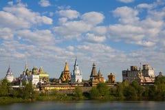 izmaylovskiy moscow park Arkivbilder