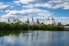Izmaylovsky el Kremlin en Moscú fotografía de archivo libre de regalías