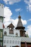 Izmaylovsky el Kremlin en Moscú Configuración rusa imágenes de archivo libres de regalías