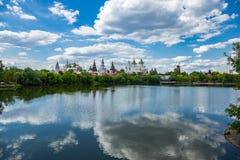 Izmaylovsky het Kremlin in Moskou royalty-vrije stock fotografie