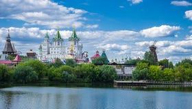 Izmaylovsky het Kremlin in Moskou stock fotografie