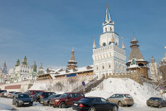 Izmaylovsky Kremlin Stock Photography