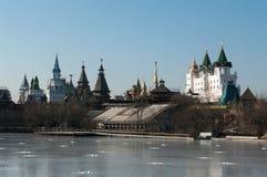 Izmaylovsky Kremlin Zdjęcia Royalty Free