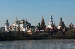 Izmaylovsky Kremlin Obrazy Stock