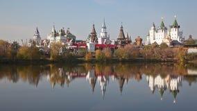 Izmaylovsky Kremlin stock footage