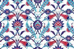 IZMIR, ТУРЦИЯ - 31-ОЕ ИЮЛЯ: Турецкая художническая плитка стены на мечети Fatih 31-ого июля 2014 в Izmir впечатляющий старый Hand Стоковое Фото