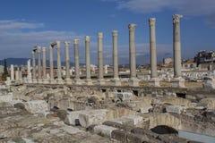 Izmir agora ancient city Stock Photos