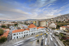 Izmir basmane railway station Royalty Free Stock Photos