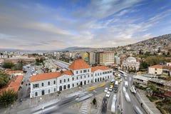 Izmir basmane railway station Royalty Free Stock Photos