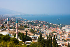 Izmir City panorama Royalty Free Stock Image