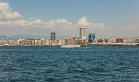Izmir city view Royalty Free Stock Photos