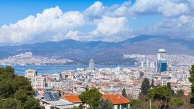 Free Izmir Cityscape, Modern And Old Houses. Turkey Royalty Free Stock Image - 163939036