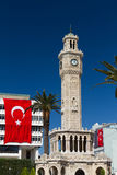 Izmir Clock Tower. From Konak Square Royalty Free Stock Photo