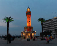 Izmir clock tower. Stock Photography