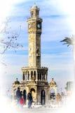 Izmir clock tower Stock Photography