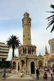 Izmir clock tower, Turkey Stock Photo