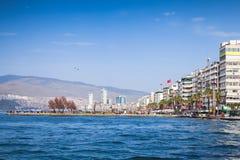 Izmir. Coastal cityscape with modern buildings Stock Photo
