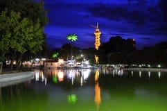 Izmir fair. At the evening Stock Photography