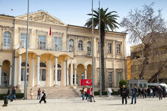 Izmir Goverment Office, Konak square, Turkey Royalty Free Stock Images
