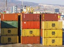 Izmir-Hafen Lizenzfreie Stockfotos