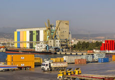 Izmir-Hafen Lizenzfreie Stockfotografie