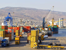 Izmir-Hafen Stockfotografie