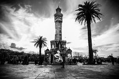 İzmir, Konak Clock Tower Stock Photo