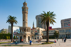 Izmir Konak Square Royalty Free Stock Photos