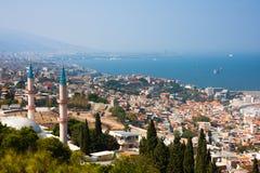 Izmir miasta panorama Obraz Royalty Free