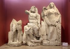 Izmir muzeum historia i sztuka Obrazy Royalty Free