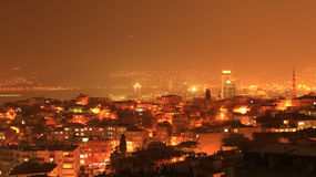Izmir night Wiew Stock Images