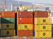 Izmir port Royalty Free Stock Photos