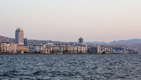 Izmir Skyline Royalty Free Stock Photos