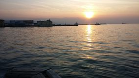 Izmir-Sonnenuntergang Lizenzfreies Stockbild