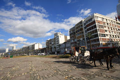 Izmir stad Fotografering för Bildbyråer